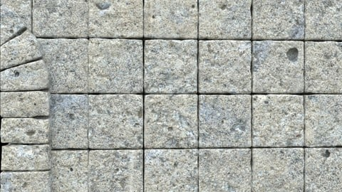 Houdini Procedural Stone Wall & Door Setup