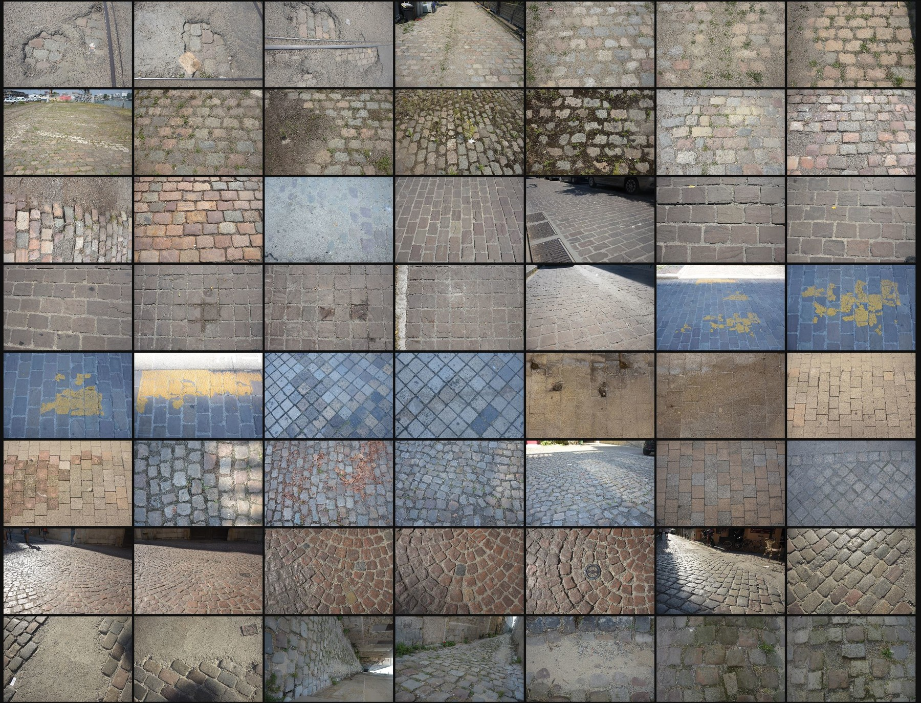 Texture reference pack pavements 2