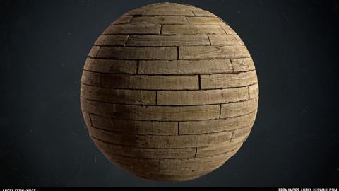 Ash Wood Planks - Substance Designer