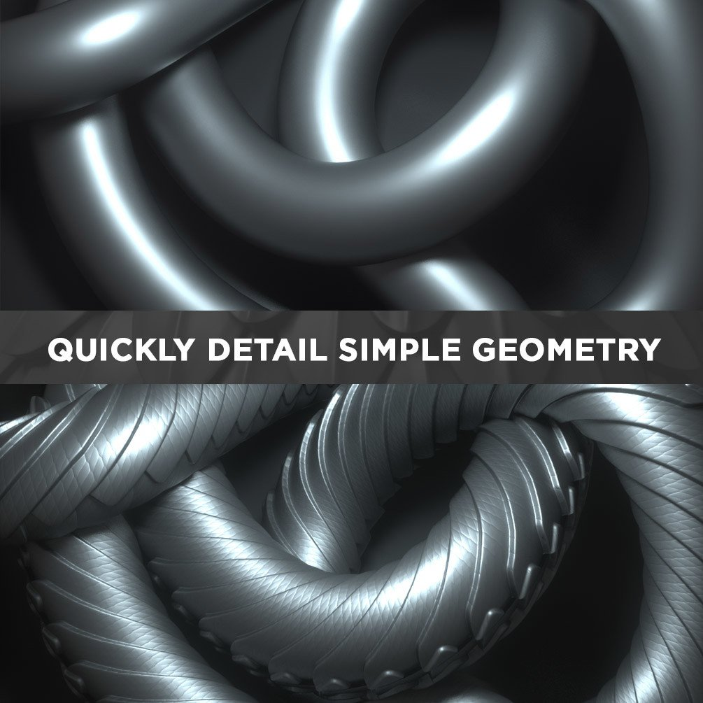 Quickly detail simple geometry