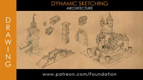 Foundation Art Group - Dynamic Sketching: Architecture