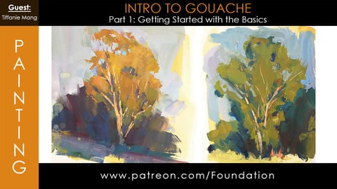Foundation Art Group - Intro to Gouache - Part 1: Getting Started with the Basics w/ Tiffanie Mang