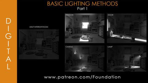 Foundation Art Group - Basic Lighting Methods - Part 1