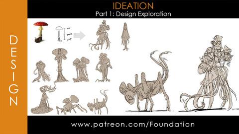 Foundation Art Group - Ideation - Part 1: Design Exploration