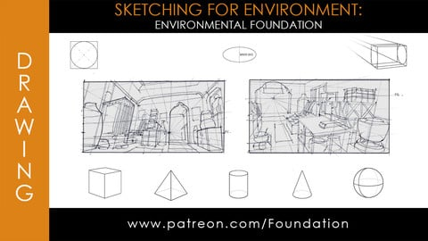Foundation Art Group - Sketching for Environment: Environmental Foundation