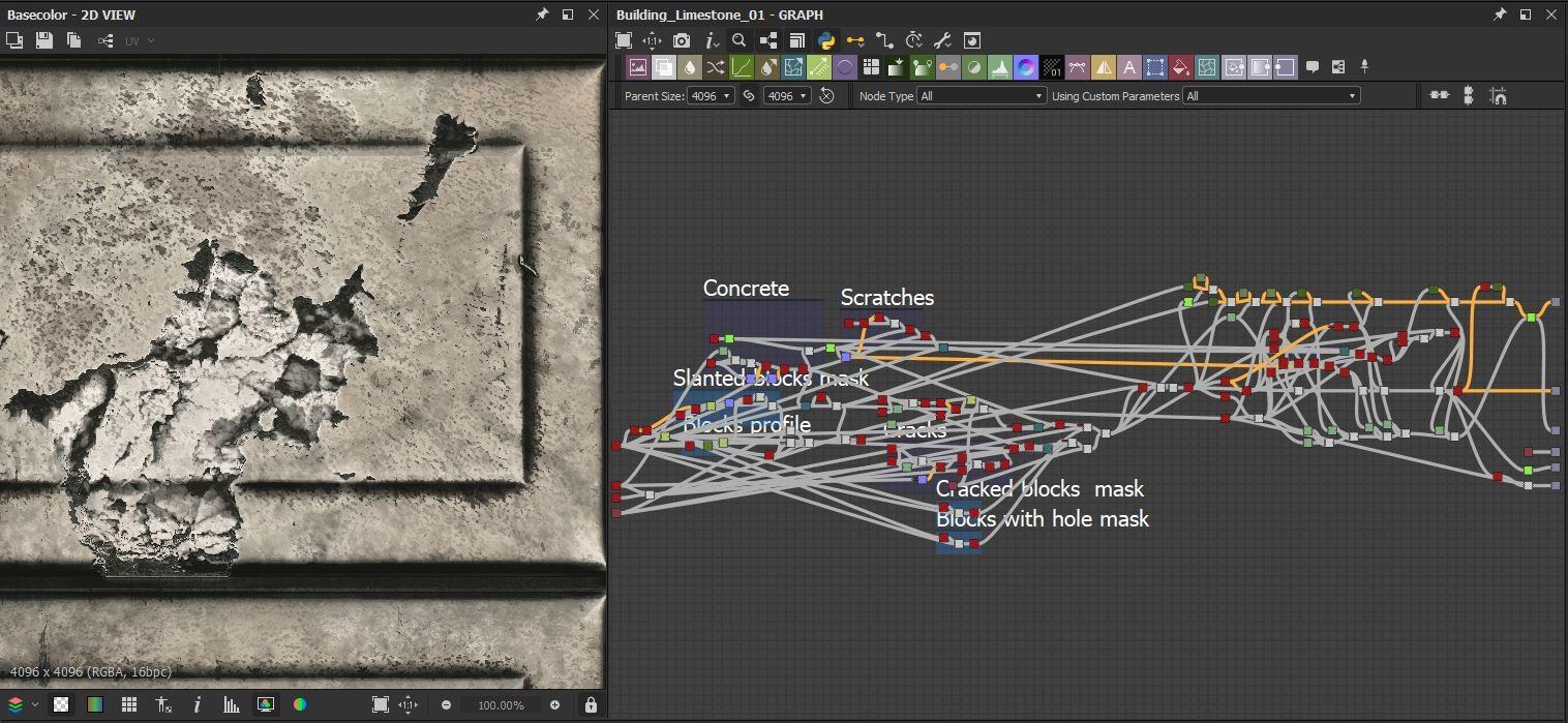 Building limestone 01 graph