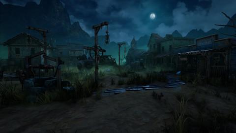 Wild West Ghost Town of Fogmourn UE4