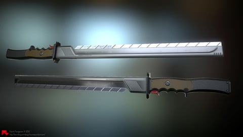 Modern Sword Design (80X-Cutter)