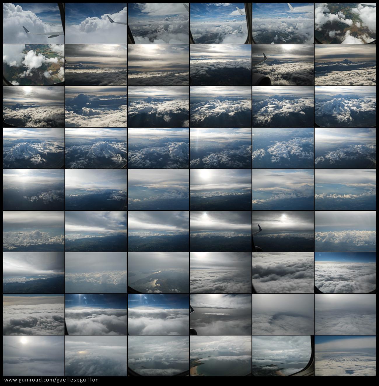 Aerial skies contactsheet 4