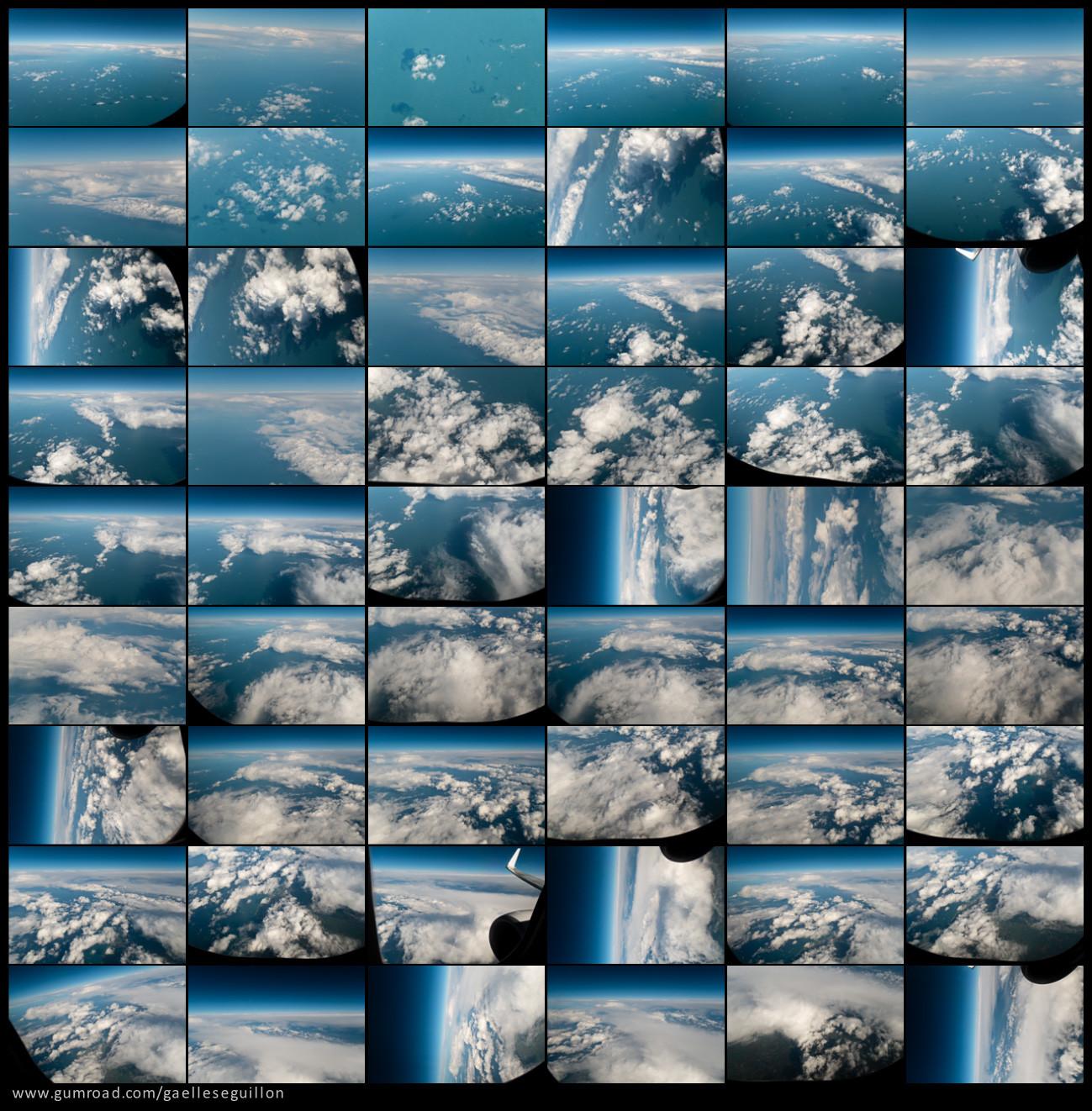Aerial skies contactsheet 6