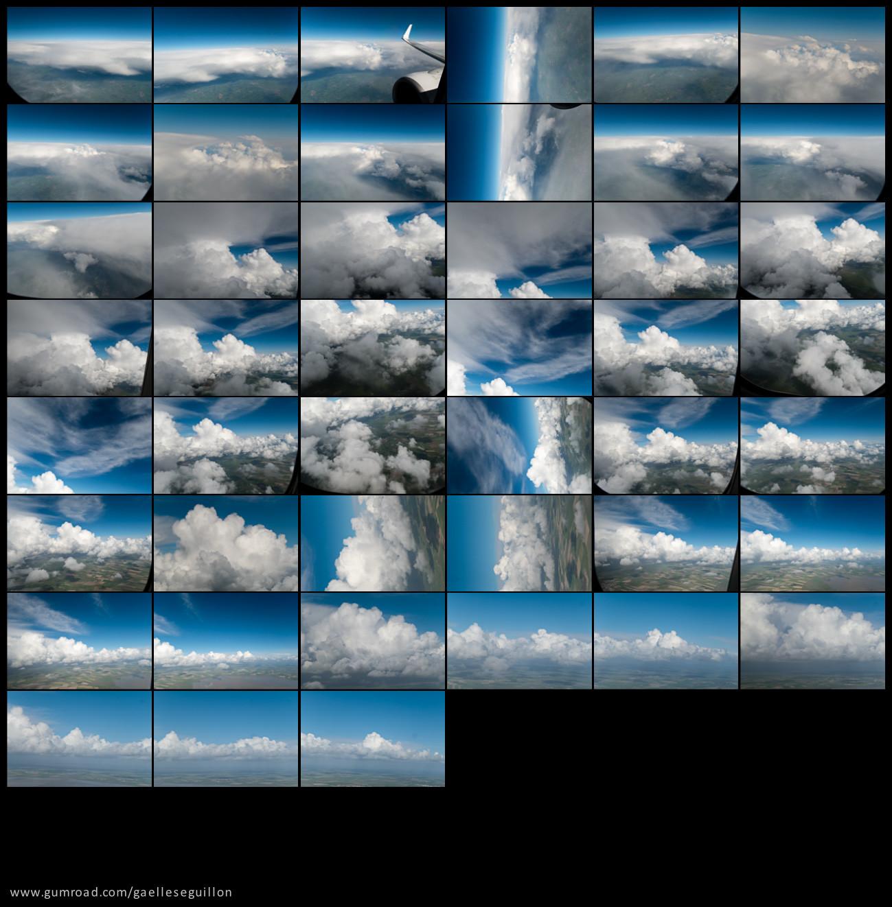 Aerial skies contactsheet 8