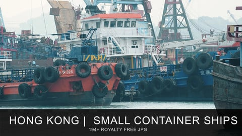 Hong Kong | Small container ships