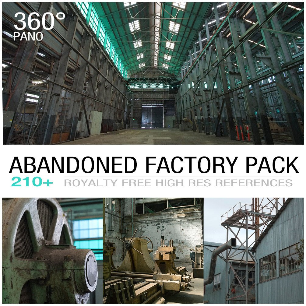 Abandoned factory cover