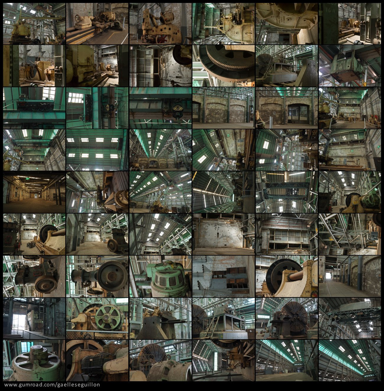 Abandoned factory preview 2