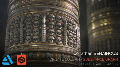 Substance - Ornate Column