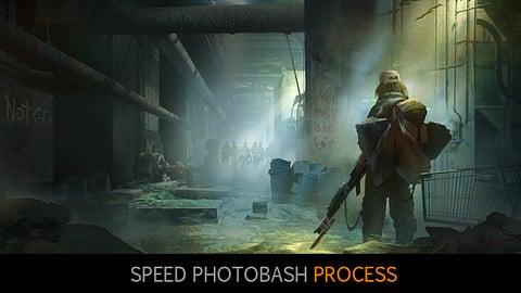 Speed Photobash process