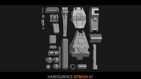 Hardsurface Kitbash 01