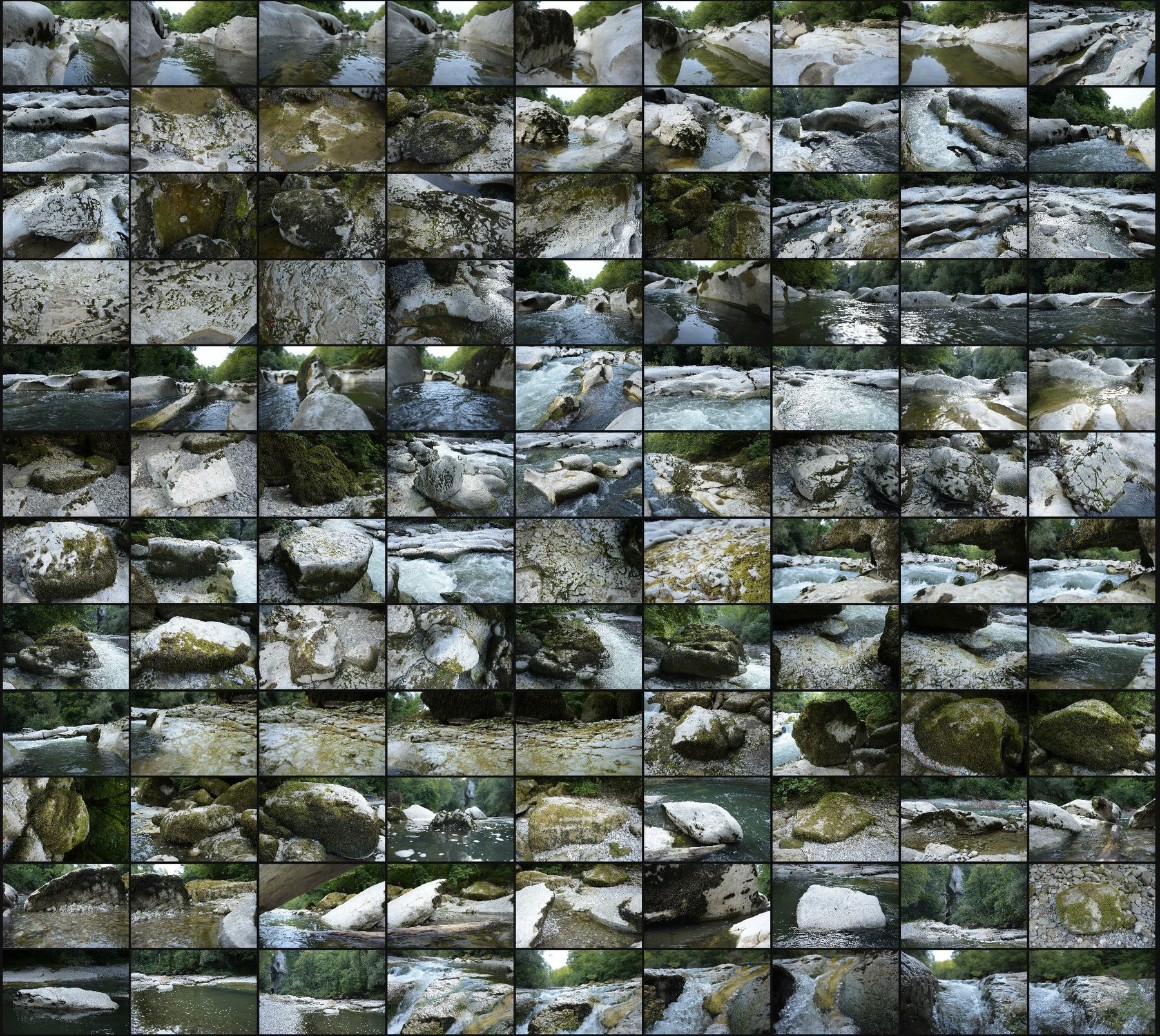 Photo reference pack alpine gorges rivers 2