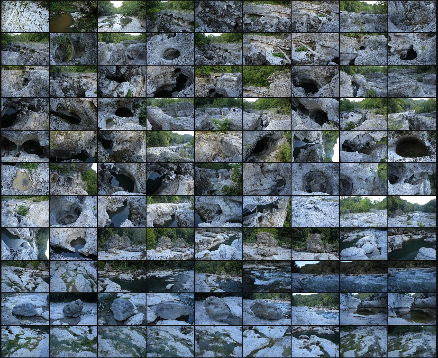 Photo reference pack alpine gorges rivers 4