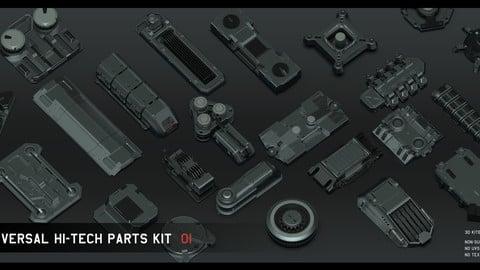 Universal Hi-tech parts kit - part 1