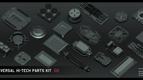 Universal Hi-tech parts kit - part 2