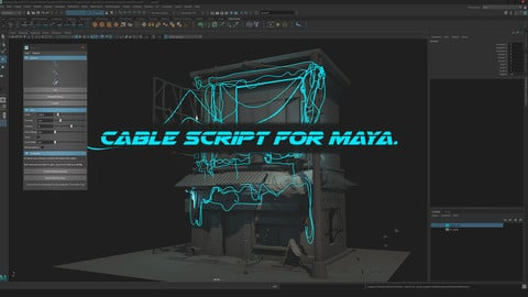 Script - Cable for Maya