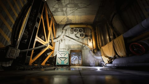 Industrial Kitbash and Coal Mine Set [UE4]