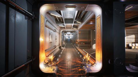 Sci-fi Interiors Kit [UE4]