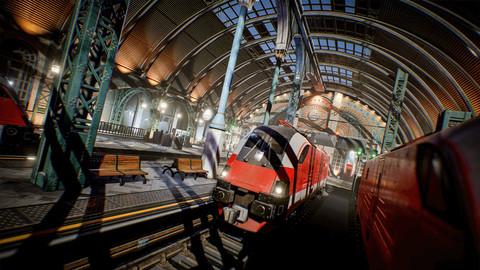 Victorian Train Station and Railroad Modular Set [UE4]