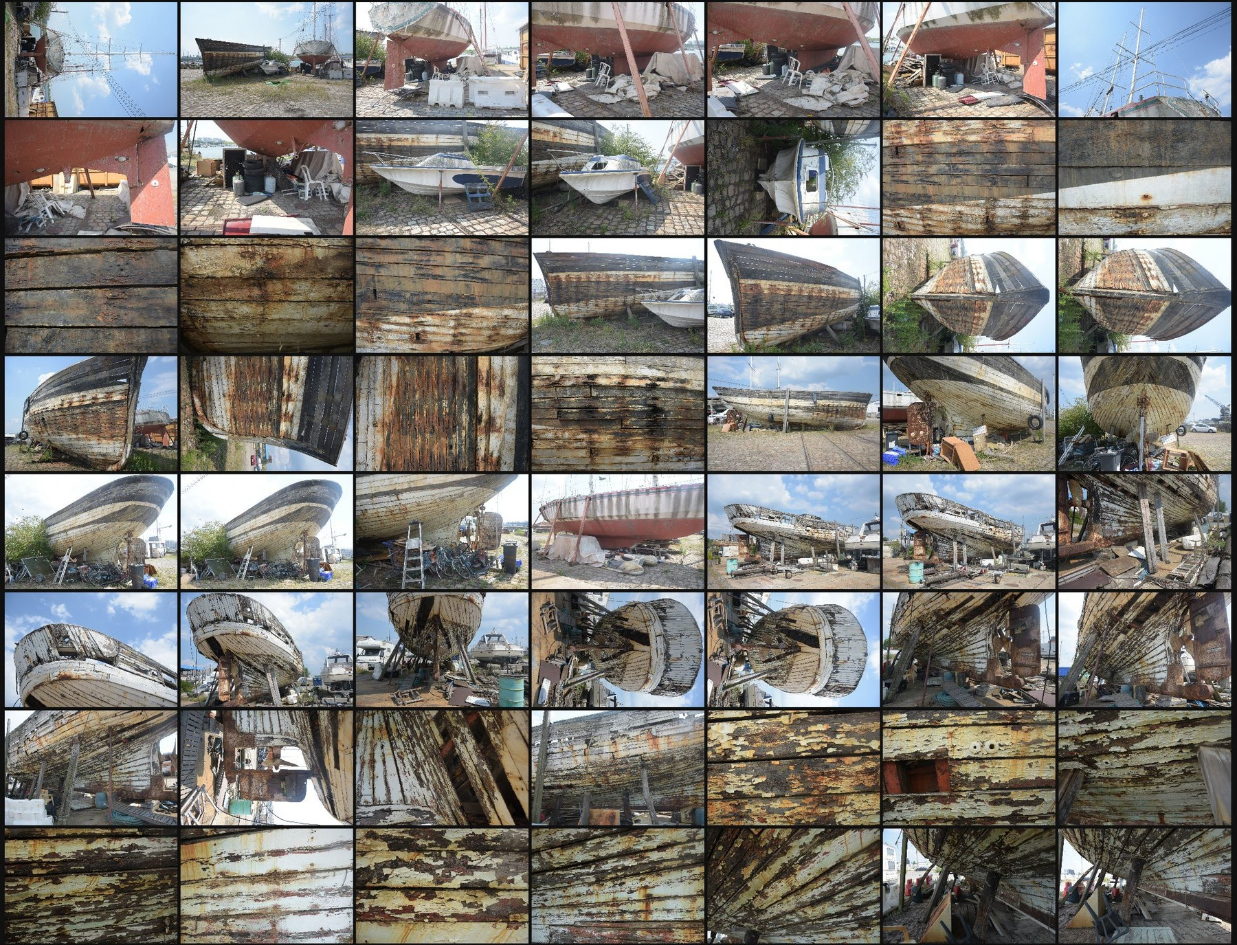 Photo reference pack ship wrecks 1