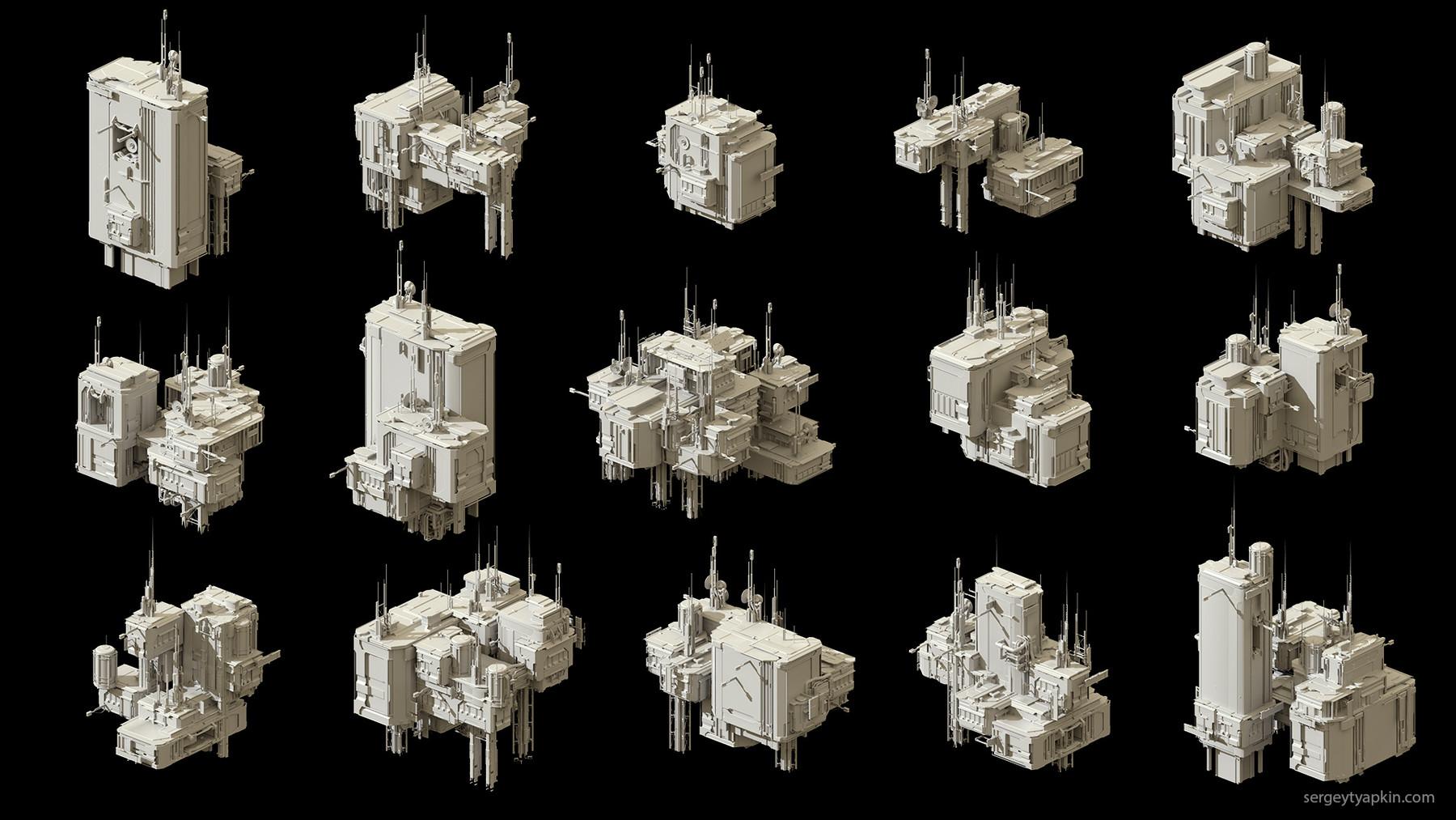 Buildings render 2