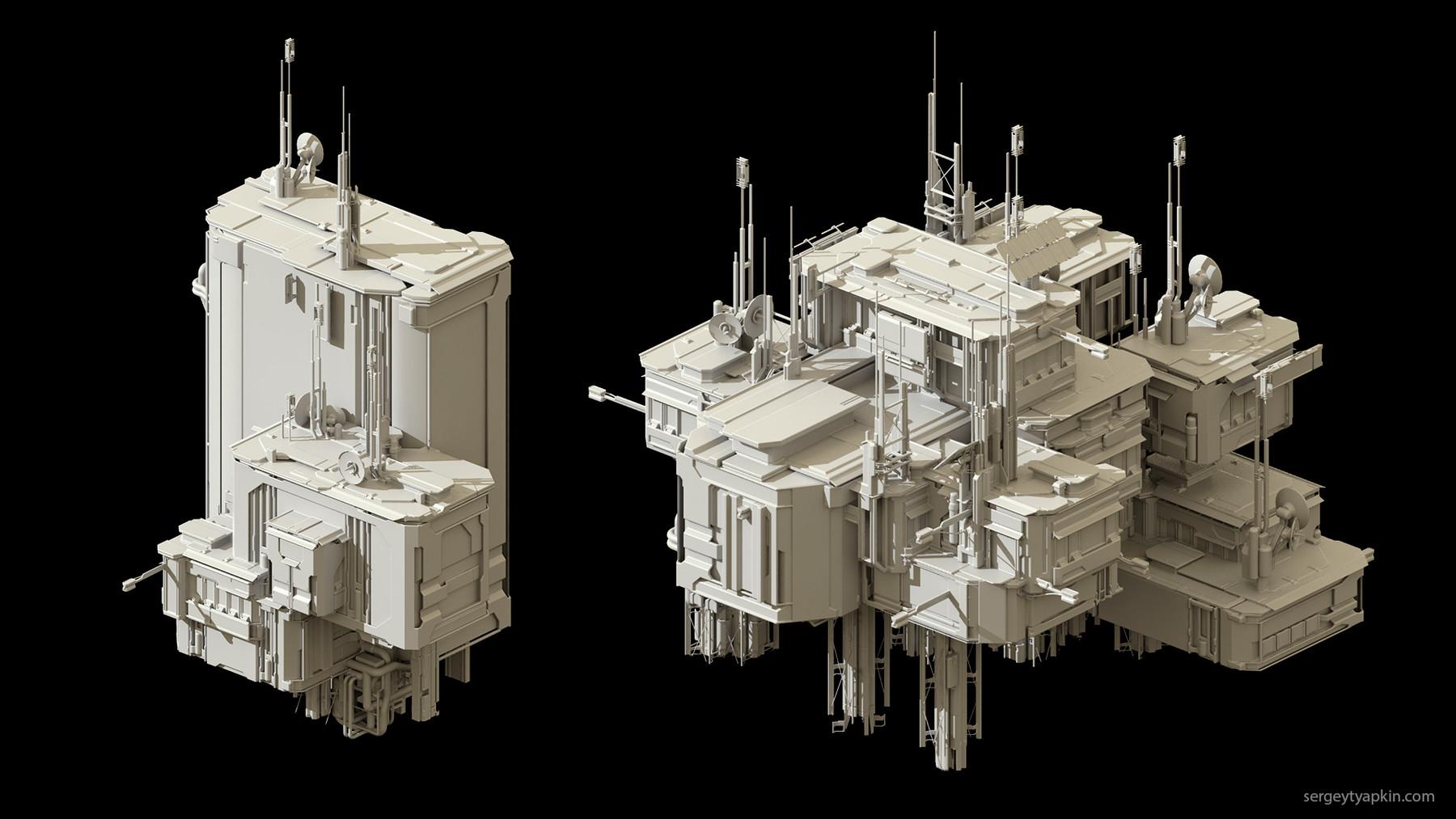 Buildings render 3