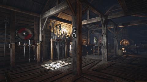 Medieval Armory UE4