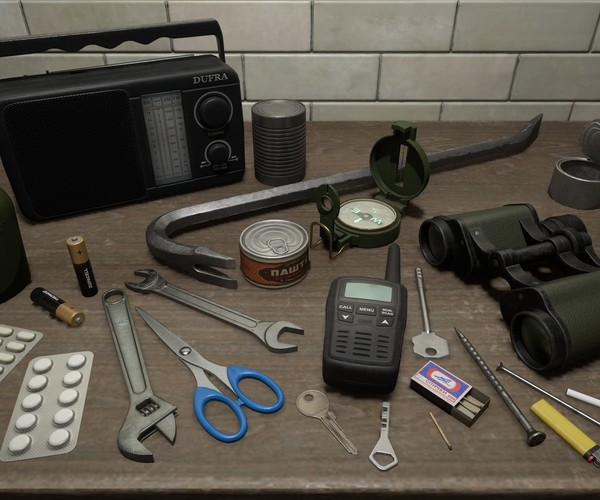 Survival Items Pack UE4