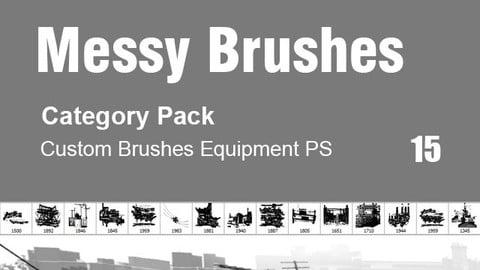 Messy Brushes - Category Brushes for Photoshop