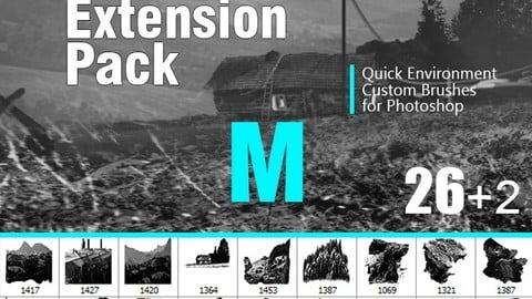 Nature Extension Pack M - Ps brushes