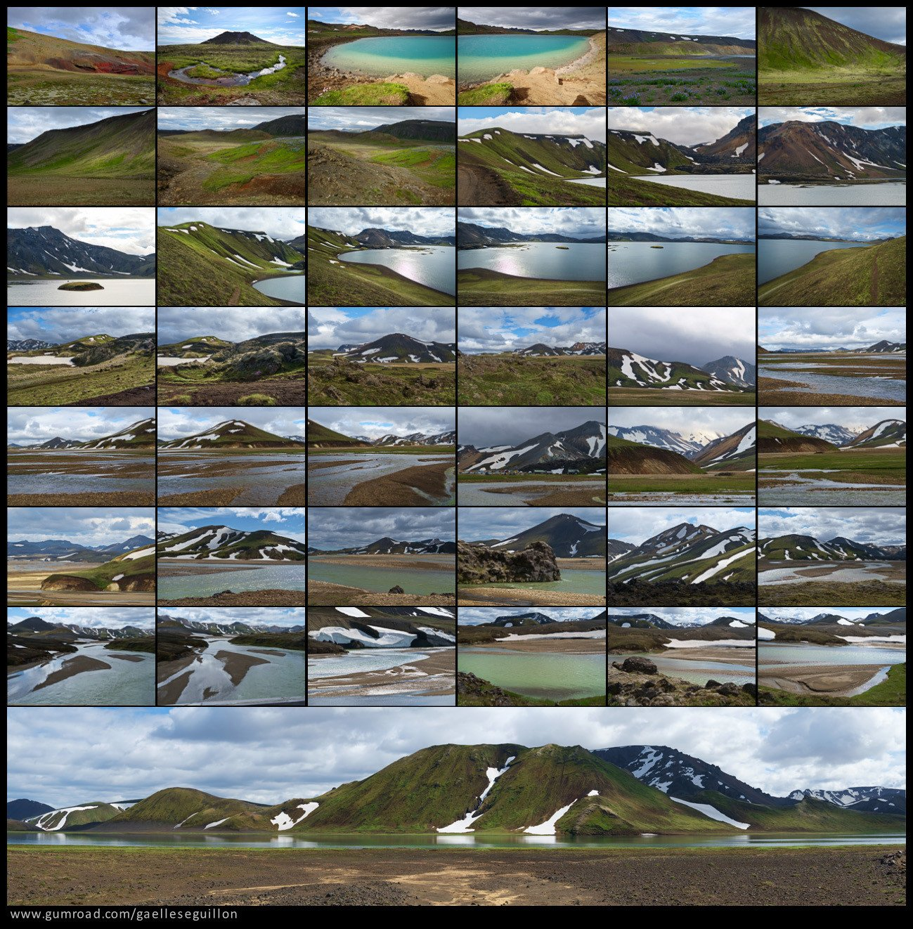 Iceland landscape preview 1