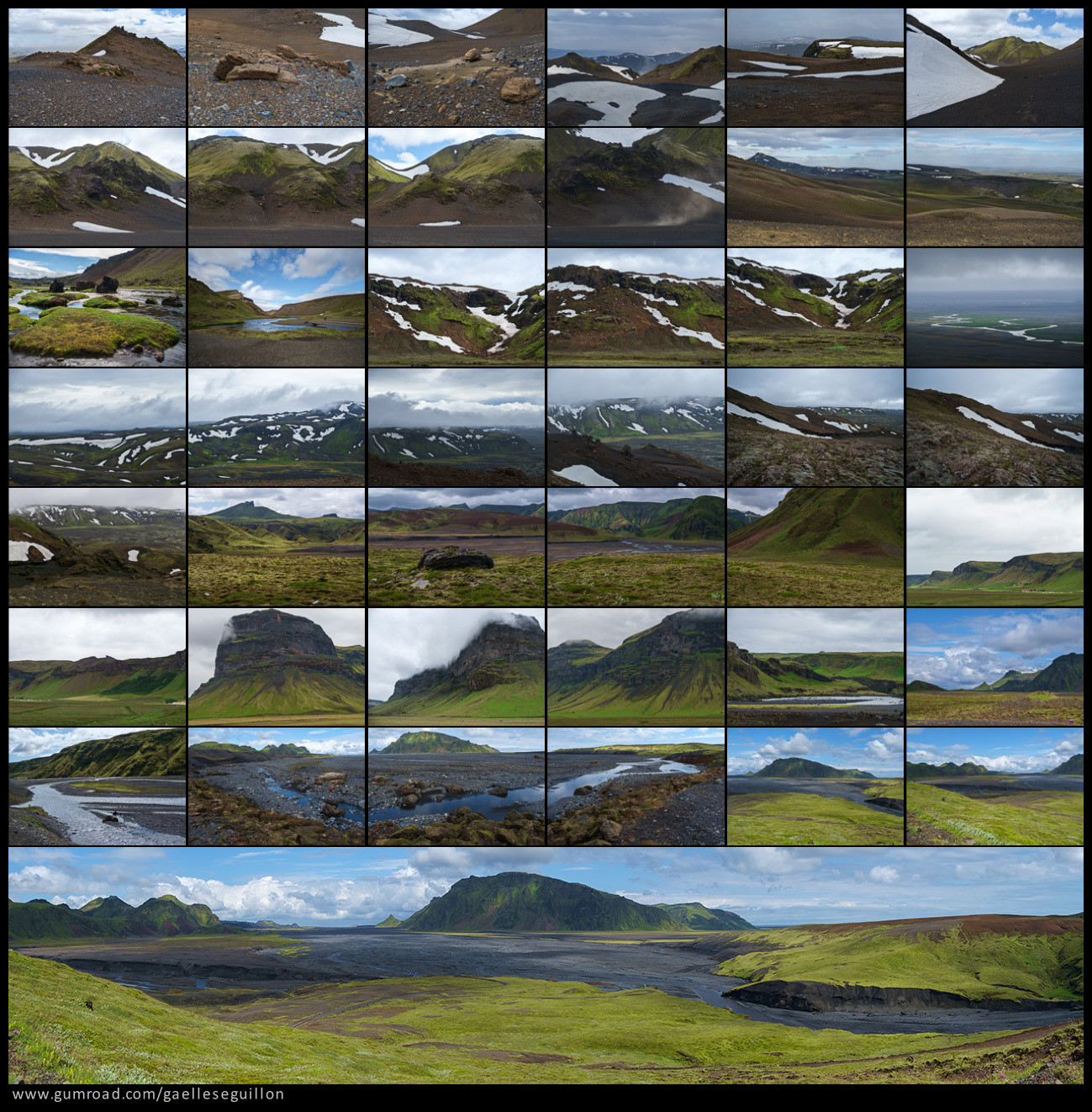 Iceland landscape preview 4