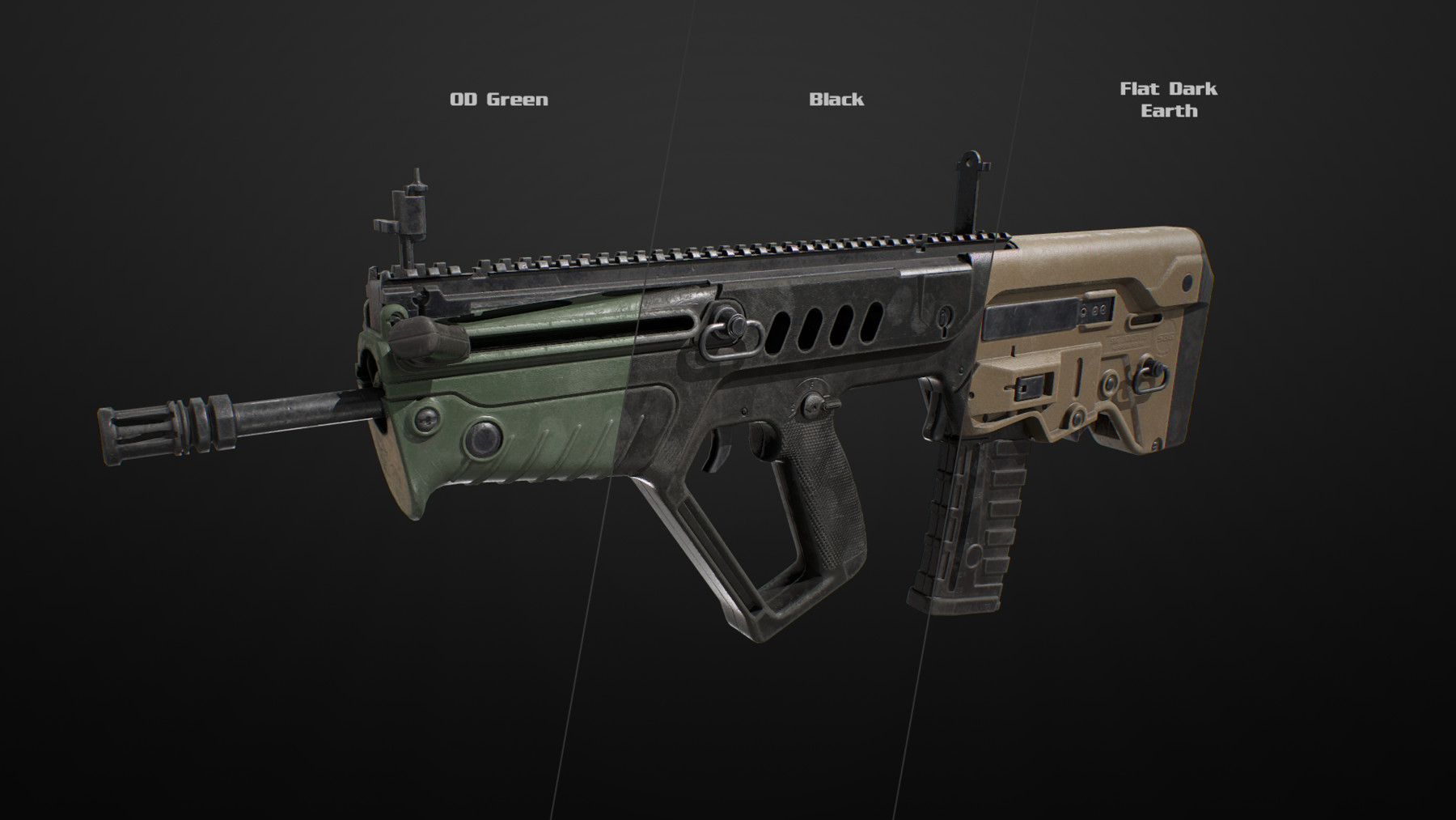 Sbg ar556 colors