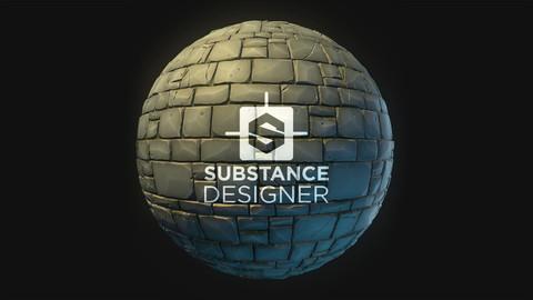Substance - Stylized Stone Wall