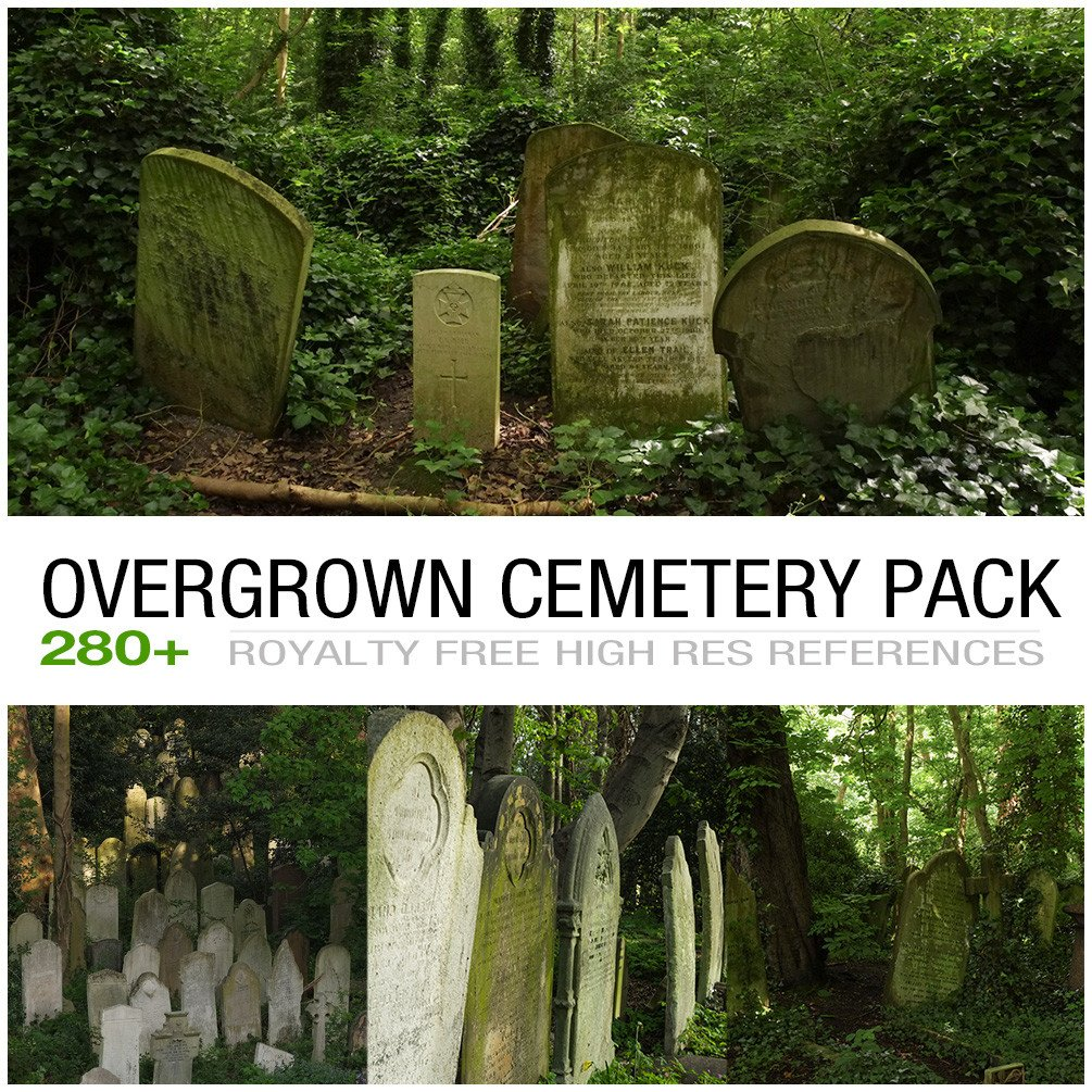 Overgrowncemetery cover