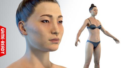 Average Asian Female Body