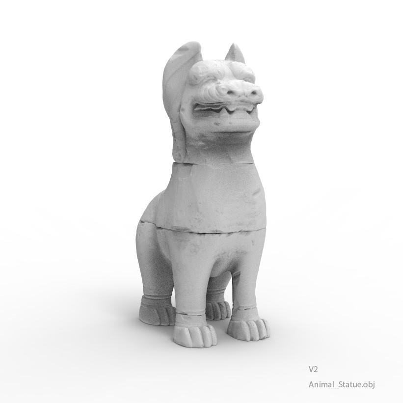 Animal statue v2