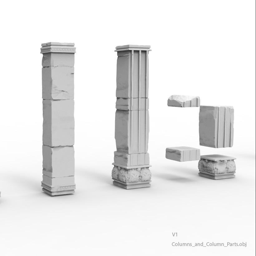 Columns and column parts v1