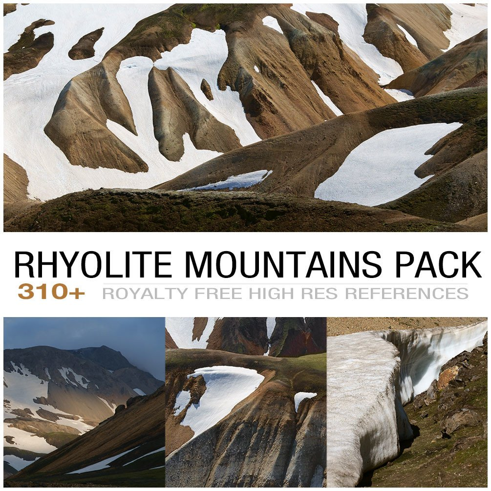 Rhyolite mountains cover