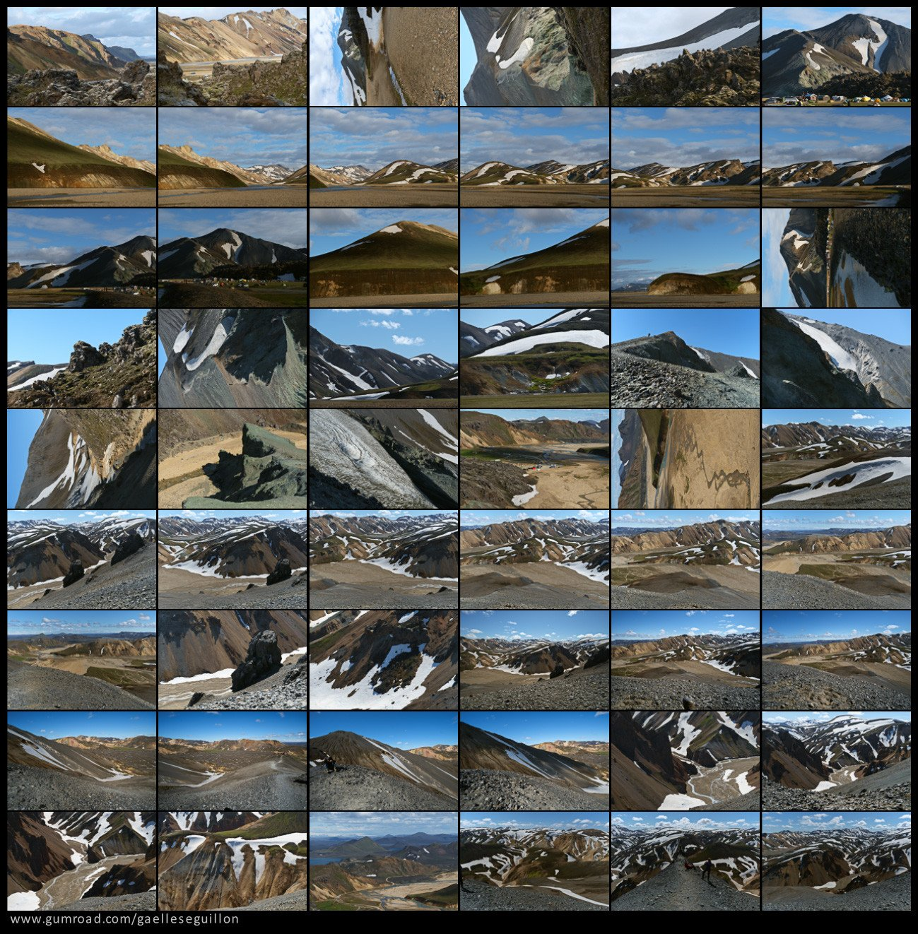 Rhyolite mountains preview 4