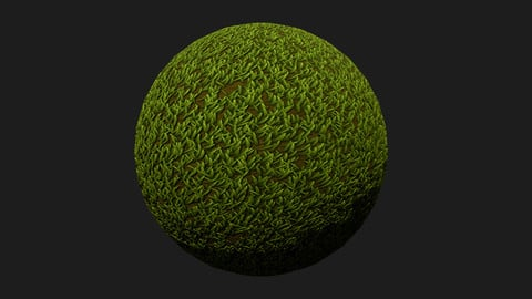 Free - Stylized Grass Substance
