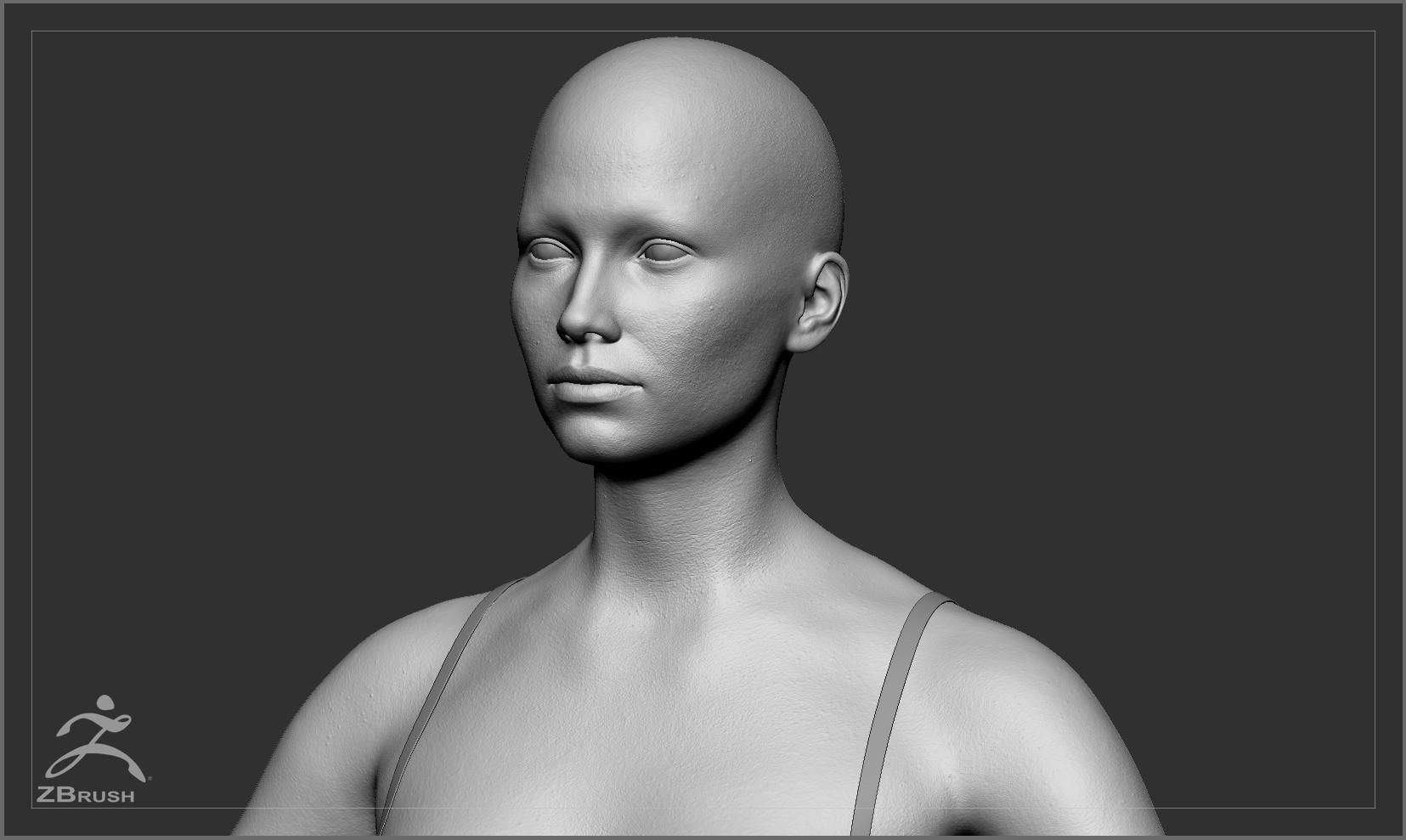 Averagecaucasianfemalebody by alexlashko zbrush 03
