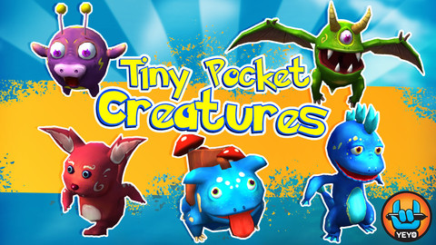Tiny Pocket Creatures