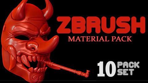 Zbrush Materials (Matcaps)